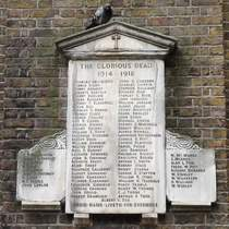 War Memorial at St Anne's Soho