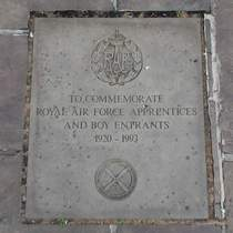 RAF boys at St Clement Danes