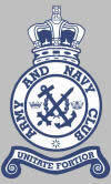 Army & Navy Club - members & staff fallen in defence of their country.