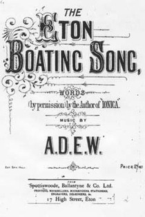Eton Boating Song