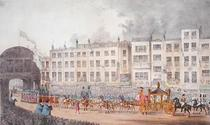 Queen Victoria's first visit to the City of London (as queen)