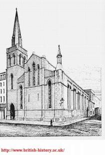 St Michaels Church at Burleigh and Exeter Streets