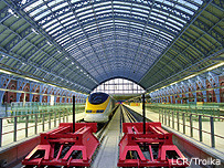 Official opening of High-Speed 1 and St. Pancras International