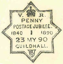 Penny post (jubilee of)