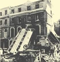 victims of Blitz tragedy in Harrington Square