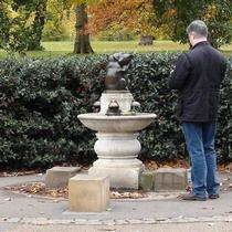 Bear fountain