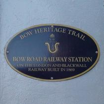 Bow Road Railway Station