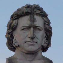 Sir Joseph Paxton - giant bust