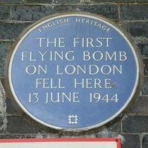First flying bomb