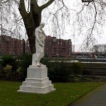 Huskisson statue