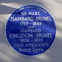Sir Marc Isambard & Isambard Kingdom Brunel