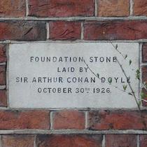 Spiritualist Temple - Conan Doyle
