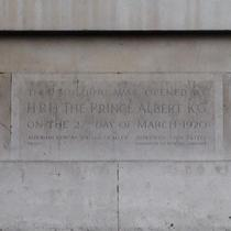 Westminster Council House - foundation stone