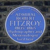 Admiral Robert Fitzroy - SW7
