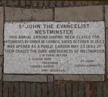 St John the Evangelist garden