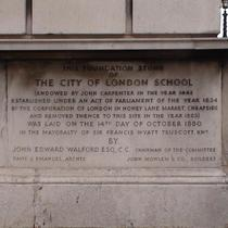 City of London School - EC4, Embankment