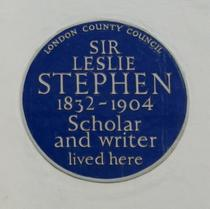 Sir Leslie Stephen