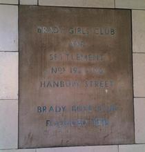 Brady Girls Club and Settlement