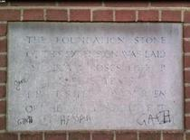 Brady Settlement - foundation stone