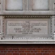Henriette Raphael plaque