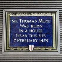Sir Thomas More - birth