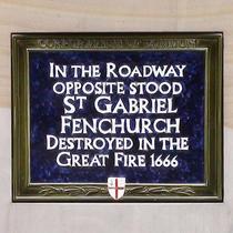 St Gabriel Fenchurch