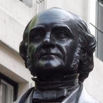 George Peabody statue