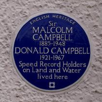 Donald and Malcolm Campbell