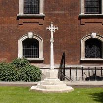 WW1 cross at St Botolph's