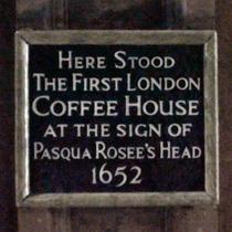 Pasqua Rosee's Head
