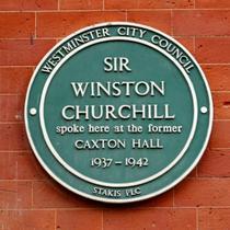 Winston Churchill - Caxton Hall