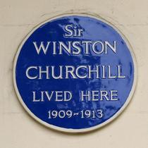 Winston Churchill - Eccleston Square