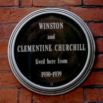 Winston Churchill - Morpeth Terrace
