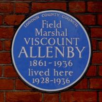 Field Marshal Allenby
