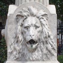 John Law Baker fountain