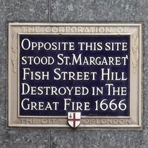 St Margaret, Fish Street Hill