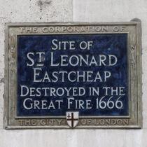 St Leonard, Eastcheap