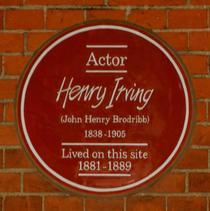 Sir Henry Irving - W6