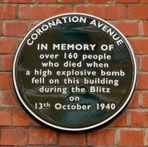 Coronation Avenue bombing