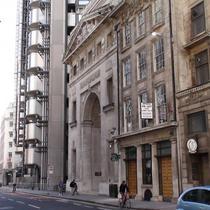 Lloyd's of London 1928 arch