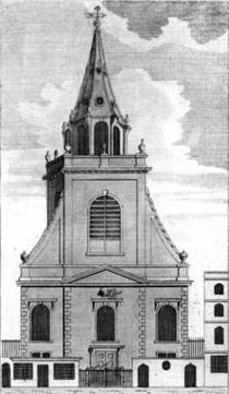 St Edmund King & Martyr, Lombard Street