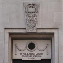 Lloyd's of London WW1 memorial