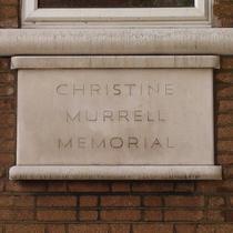 Christine Murrell memorial