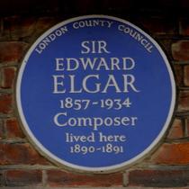 Sir Edward Elgar - W14