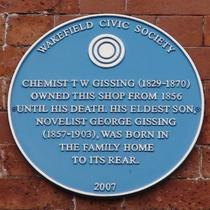 George Gissing - Wakefield shop