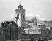 St Olave Hart Street - church