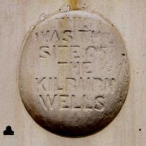 Kilburn Wells Spa - wall plaque