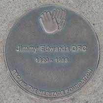 BBC Television Centre - Jimmy Edwards