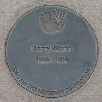 BBC Television Centre - Harry Worth