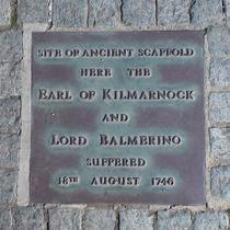 Tower Hill Martyrs - Kilmarnock & Balmerino